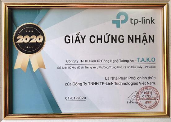 chung-nhan-tako-la-nha-phan-phoi-thiet-bi-mang-chinh-hang-cua-tp-link